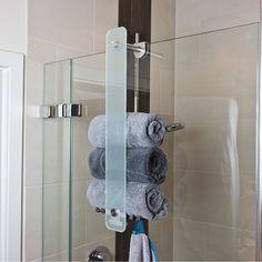 Bathroom Renos, Bathroom Interior, Wall Mounted Towel Holder, Towel Organization, Create Space, Modern Bathroom Design, Decoration, New Homes, Design Inspiration