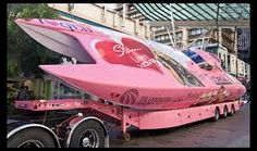 In Love with this speed boat ! pink boat Pink and Girly* By: Van xo