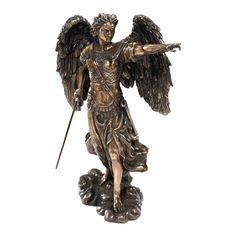 BRONZE URIEL ANGEL DESIGN TOSCANO Basil Street | eBay