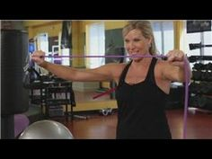 Resistance Band Exercises : Stretch Band Exercises for Seniors Pilates Workout, Post Workout, Workout Videos, Fitness Pilates, Stretch Band Exercises, Stretching Exercises, Flexibility Exercises, Exercise Bands, Best Resistance Bands