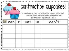 Babbling Abby: Contraction Activities {First Grade}