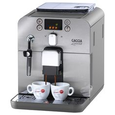 Gaggia Brera Superautomatic Espresso Machine, Silver >>> Check this awesome product by going to the link at the image.