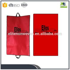 dfa5ea635 China supplier of rectangle Vestment Garment Bag of non woven polypropylene  material foldable suit cloth cover