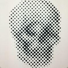 Skull by artist Carlos Stincer