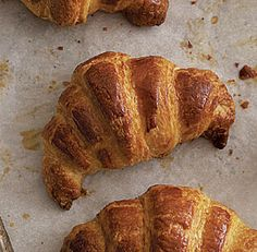 It was wayyy too hard to find a Croissant Recipe on Pinterest.. so I added my own. I can't wait to make them but beware... they take more than one day!! =)