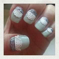 Tea party nails | chichicho~ nail art addicts