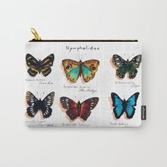 Nymphalidae butterflies Carry-All Pouch