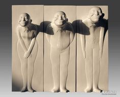 XiaoWu Gao, 高孝午 - Standard TImes 标准时代浮雕