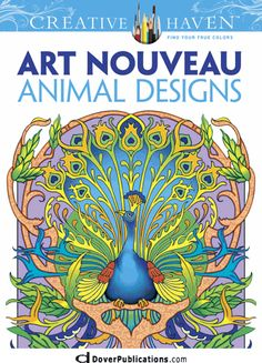 Creative Haven Art Nouveau Animal Designs Coloring Book . Can you tell the difference between Art Deco and Art Nouveau?