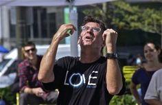 LOVE; Dilworth Park, Philadelphia, Pennsylvania, USA.  September 2014.