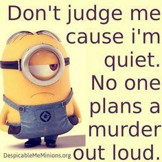Don't judge me...