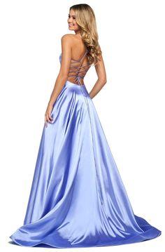 Sherri Hill Prom Dresses, Prom Dress Stores, Prom Dresses Online, Dress Shops, Homecoming Dresses, Prom Outfits, Dress Prom, Dress Long, Satin Gown