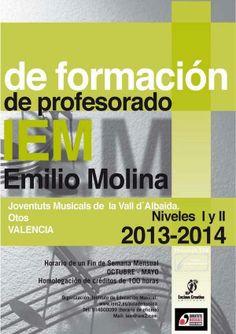 "JM Vall d'Albaida: ""IEM TEACHER TRAINING"" >>>INFO: http://iem2.es/aulademusica/formacion-profesorado-iem/profesor-iem-valencia?lang=en — in Otos, Valencia."