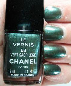 Chanel - Vert Sacrilege | Flickr - Photo Sharing!