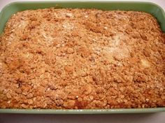 Pumpkin Crumb Cake – YUMMM! ~ http://www.southernplate.com