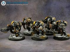 Den of Imagination - Gallery Warhammer 40k Space Wolves, Wolf Painting, Warhammer 40k Miniatures, Painting Services, Crusaders, Space Marine, Marines, Diorama, Den