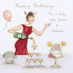 Birthday Ecards for Females Happy Birthday Greetings Friends, Happy Birthday Ecard, Funny Happy Birthday Wishes, Happy Birthday Celebration, Happy Birthday Girls, Birthday Cards, Birthday Hug, Birthday Images, Funny Cards