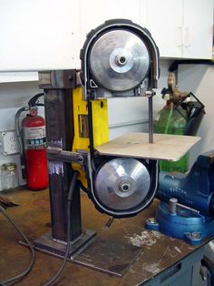 Portable Bandsaw Mounting Pictures Needed