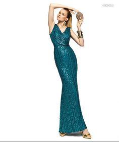 PRONOVIAS BARCELONA 2013 long collection prom dresses robe de soirée bleue55