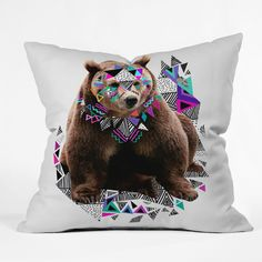 Kris Tate Honaw Throw Pillow | DENY Designs Home Accessories