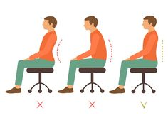 Para cuidar da saúde, é importante se lembrar também da postura. Não deixe que o descuido estrague a sua estrutura.