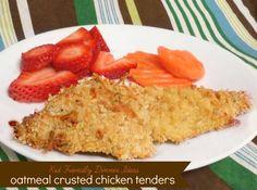 Chicken on Pinterest | Almond crusted chicken, Oven fried chicken ...