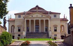 Palladio's Villa Rotunda; Vicenza, Italy