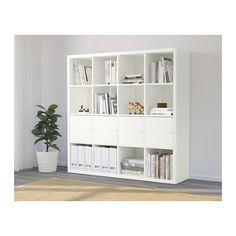 KALLAX Étagère avec 4 accessoires - blanc - IKEA