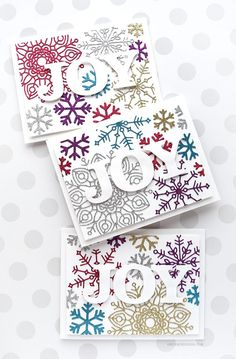 Simon Says Stamp Big BLISS SNOWFLAKE Wafer Dies sssd111749