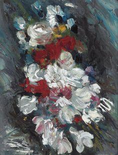 Flowers. Maurice de Vlaminck