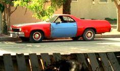 1986 Chevy El Camino Custom Bed Detail Notice Walnut