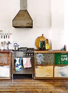 #kitchen Inside Out and my dream warehouse - desire to inspire - desiretoinspire.net