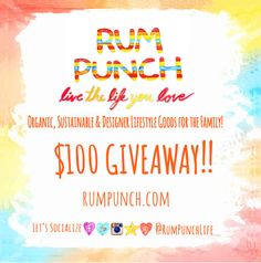 $100 Rum Punch Gift Card Giveaway (8/23)