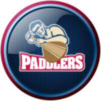 Oahu Paddlers From The Hawaii Collegiate Baseball League Baseball League Paddler King Logo