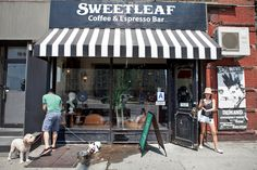 You will find commercial areas untouched by the mega-chain stores.  This is what makes NYC unique.  Sweetleaf 10-93 Jackson Ave
