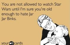 I love Star Wars... Too bad there are only 3 of them. *cough*