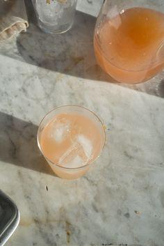 grapefruit juice. tequila. smoked salt.