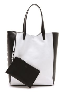 b922d58775  Virgo Fall fashion 2013 Work Outfit ... Tote black and white trend