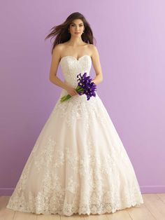 New Bridal Gown Available at Ella Park Bridal | Newburgh, IN | 812.853.1800 | Allure Romance - Style 2917