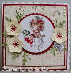 Sue's Handmade Cards: Hobby House.... Supplies Hobby House Topper from the Rosetta set. Papers are LOTV Country Lady. LOTV sentiment. Flowers are made using Memory Box Fabulous Phlox. Spellbinder dies.