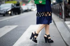 THE 50 BEST STREET-STYLE SHOES FROM SPRING 2014 prada heels