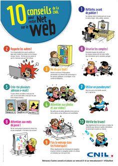 10 conseils de la CNIL pour rester Net sur le Web - Martin Vidberg http://vidberg.blog.lemonde.fr/2015/08/28/les-10-conseils-pour-rester-net-sur-le-web/