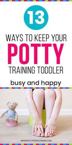 Potty training boys or potty training girls all under 2 years old? Learn 13 potty training ideas and tricks to keep your toddler busy and happy. Best Potty, Toddler Potty Training, Parenting Toddlers, Parenting Tips, Natural Parenting, Parenting Humor, Toddler Discipline, Toilet Training, Kids Behavior
