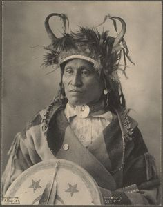 Chief Wets-It  Assinaboine  1898  Frank A. Rinehart