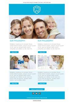 ¡Promociona tu centro odontológico con las plantillas newsletter Mailify!