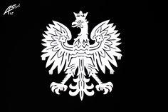 Godło - orzeł - wieszak na ubrania / coat hanger  #wieszak #ubrania #dekoracja #design #ozdoba #pomysł #prezent #biały #white #eagle #Polska #poland #dom #homedecor #home #coat #hanger #interiordesign Steel, Cards, Dom, Home Decor, Design, Living Room Ideas, Bedroom, Decoration Home, Room Decor