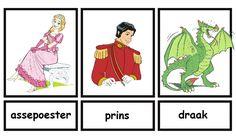 Woordkaarten Efteling deel 1