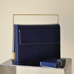 My funny Valentine  and You Are So Square Wallet Blue. www.lautemshop.com. #lautem # handbag #fashion #design