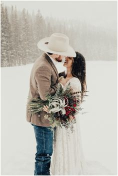 Another gorgeous winter wedding shot! Another gorgeous winter wedding shot! Another gorgeous winter wedding shot! Winter Wedding Attire, Winter Wedding Receptions, Snow Wedding, Maroon Wedding, Winter Wonderland Wedding, Dream Wedding, Cowboy Wedding Attire, Cowboy Weddings, Barn Weddings