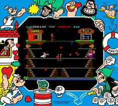 Popeye (Arcade) The only arcade game I was kind of good at.